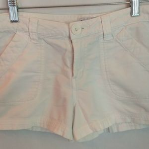 👠Womens LEI Cotton Shorts Sz 7 White